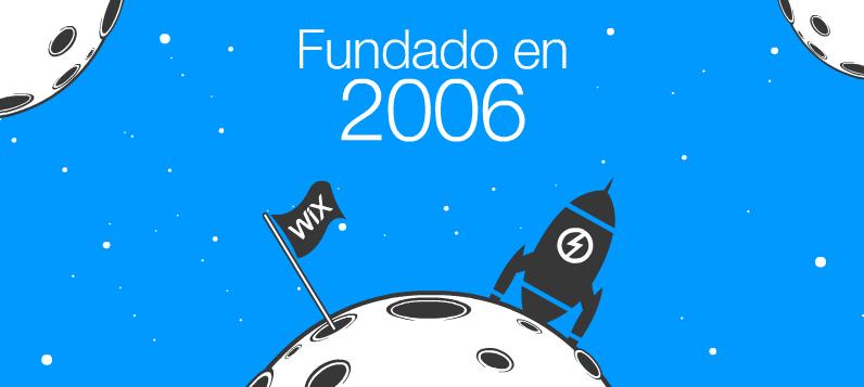 Wix se funda en 2006
