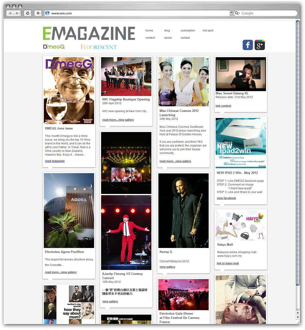 Revista Emagazine