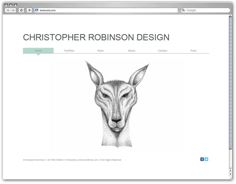 Christopher Robinson Diseño