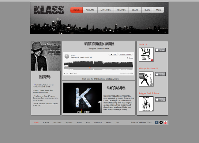 Klass SoundCloud playlist