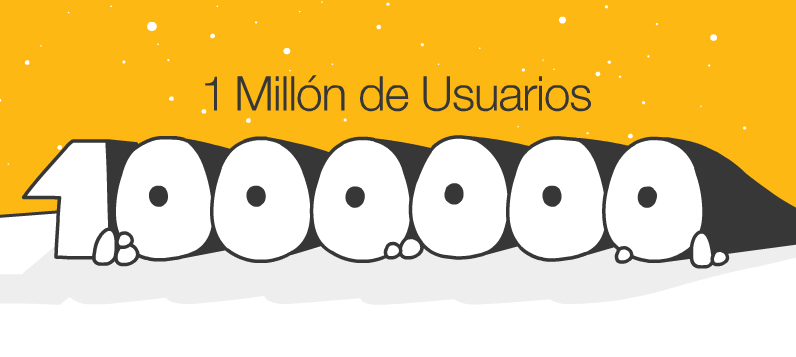 1 millón de usuarios