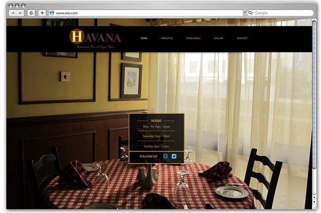 Sitio web de Havanarest - Bahrain