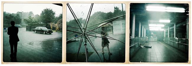 Varias fotografías de un día lluvioso