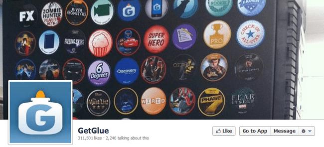 Página de Fan de GetGlue