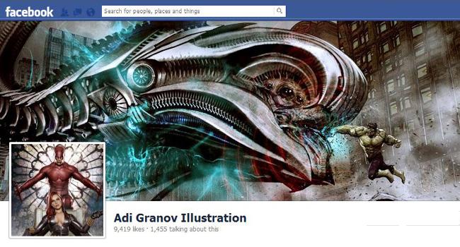 Foto de portada de Adi Granov Illustrations
