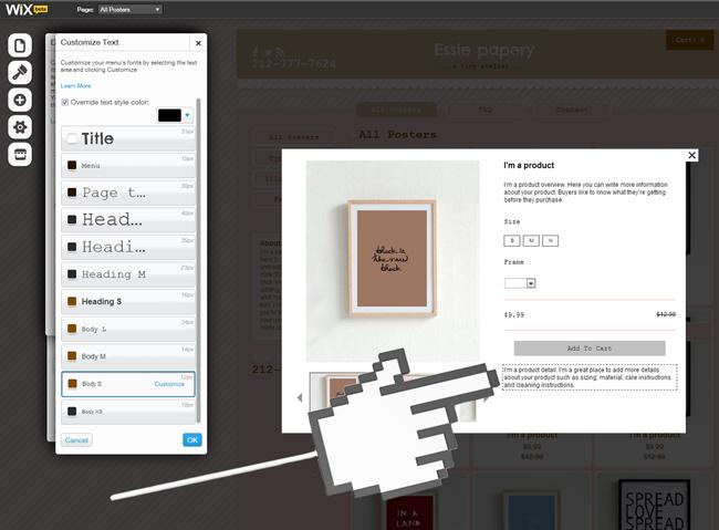 Personaliza textos - fuentes y colores