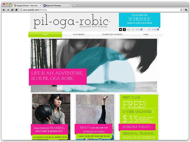 Página de Inicio de Pil-oga-robic