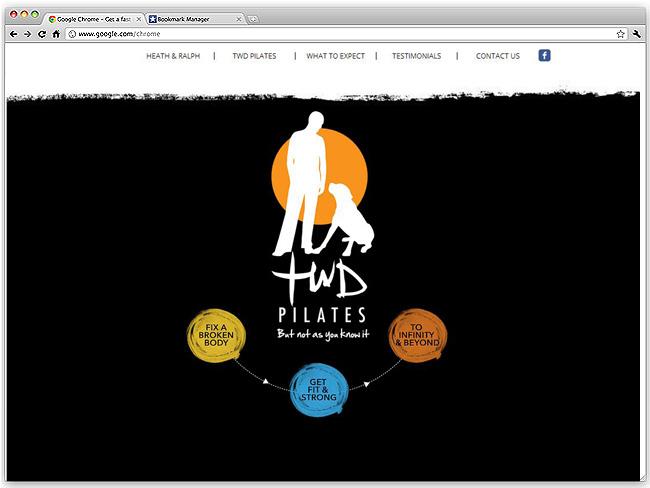 Página de Inicio de TWD Pilates