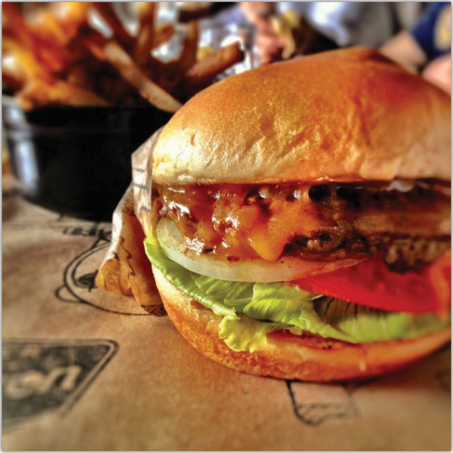 Jugosa hamburguesa
