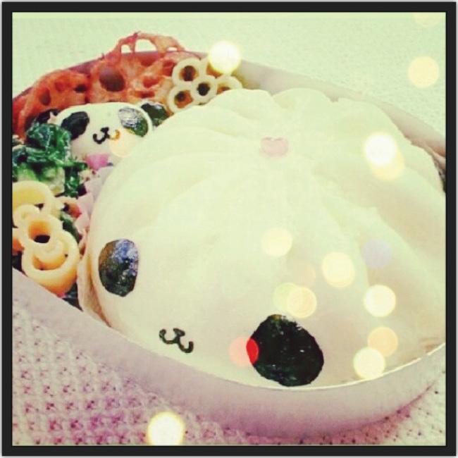 Almuerzo en forma de panda