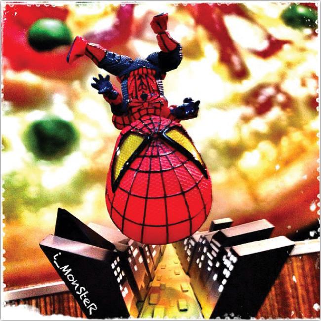 Muñeco del hombre araña