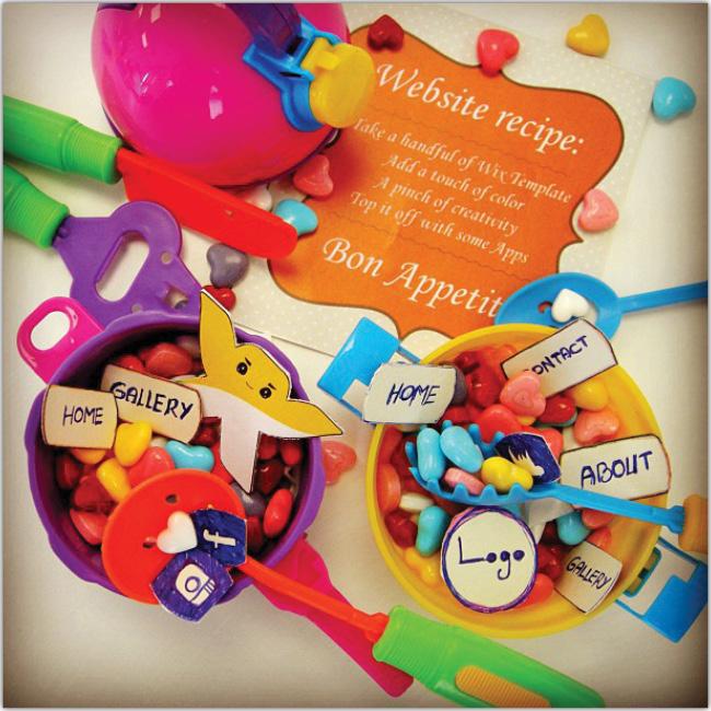 Elementos de cocina de juguete y elementos del editor