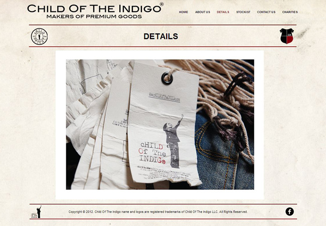 Sitio Web de Child of the Indigo