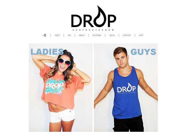 Sitio Web Drop