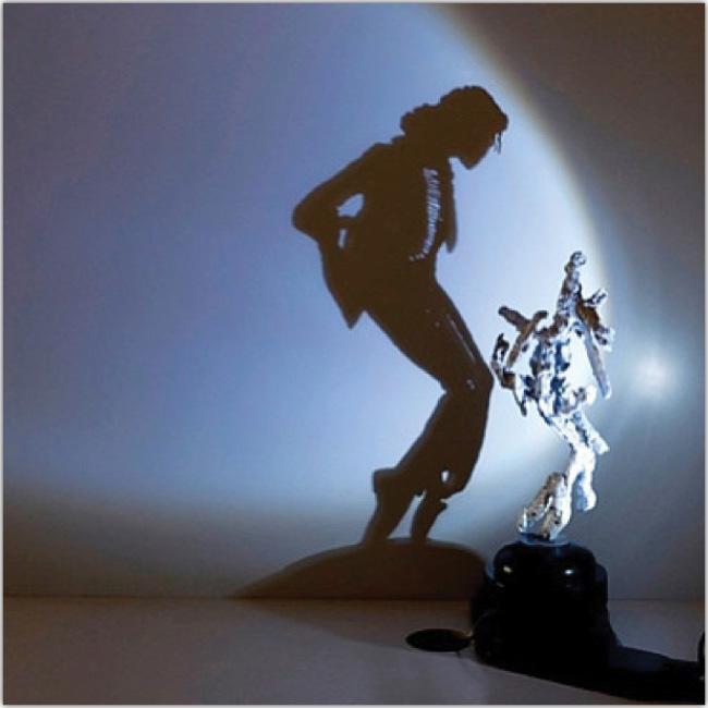 Escultura de Michael Jackson