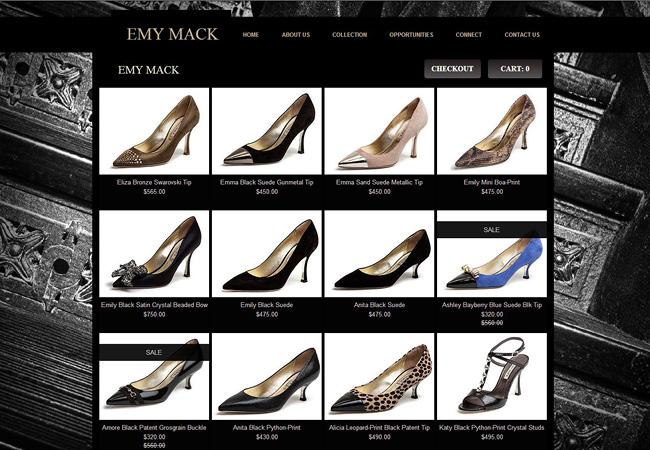 Sitio de Emy Mack