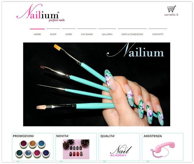 Página de Inicio de Nailium