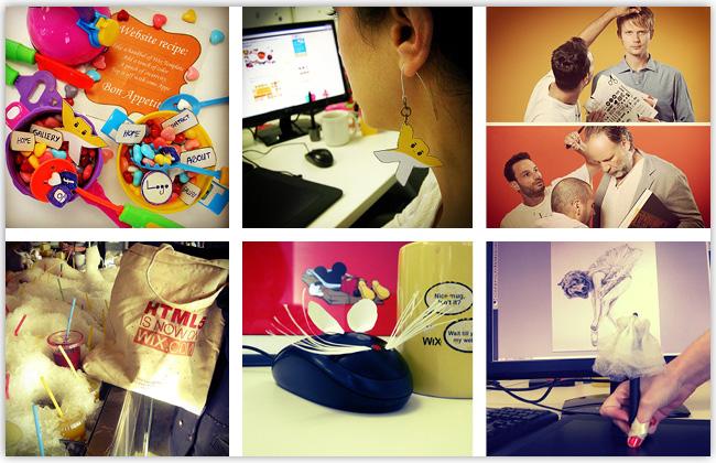 Wix en Instagram