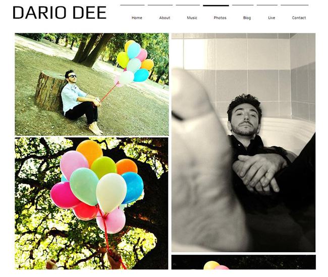 Sitio web de Dario Dee