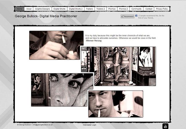 Sitio web de George Bullock