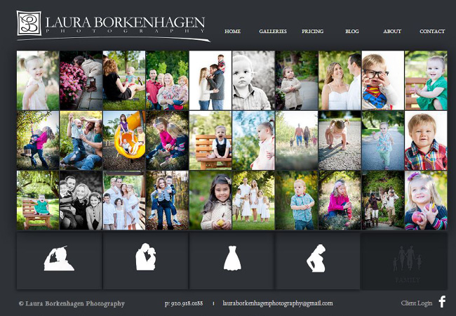 Sitio web de Laura Borkenhagen