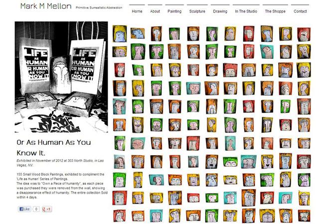 Sitio web de Mellon Fine Art