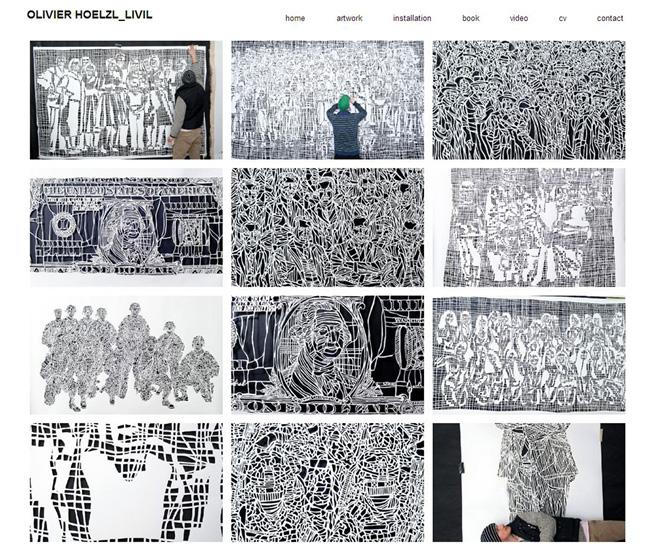 Sitio web de Olivier Heolzl