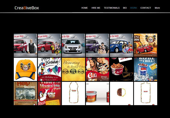 Sitio Web de Crea8ive Box