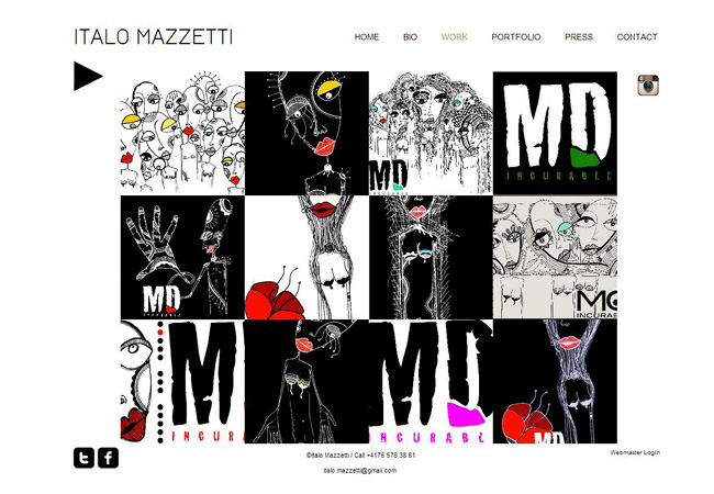 Sitio web de Italo Mazzetti