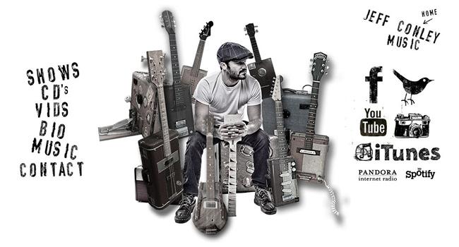 Página web de Jeff Conley Band