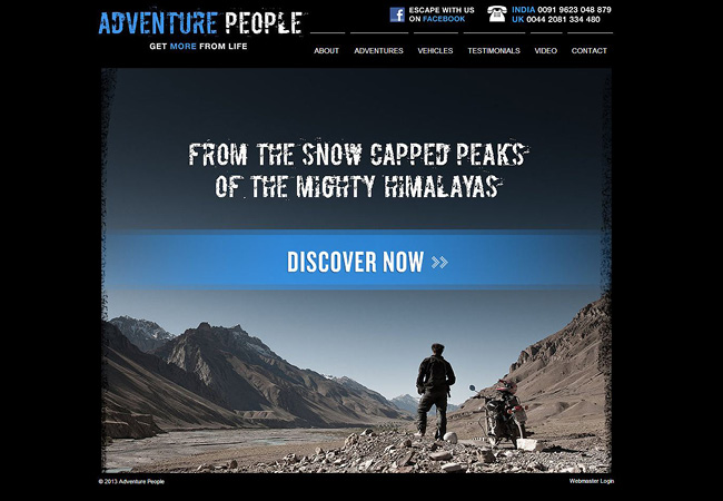 Sitio Web de Adventure People