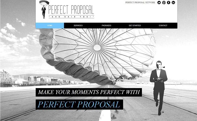 Servicio de ideas para propuestas de casamientos