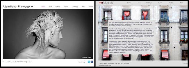 Pantallazo de Sitio Web