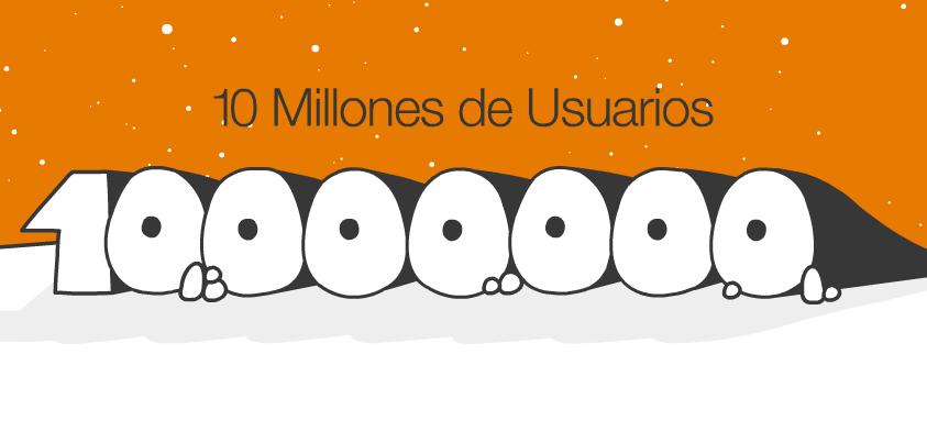 10-Million-Users_es