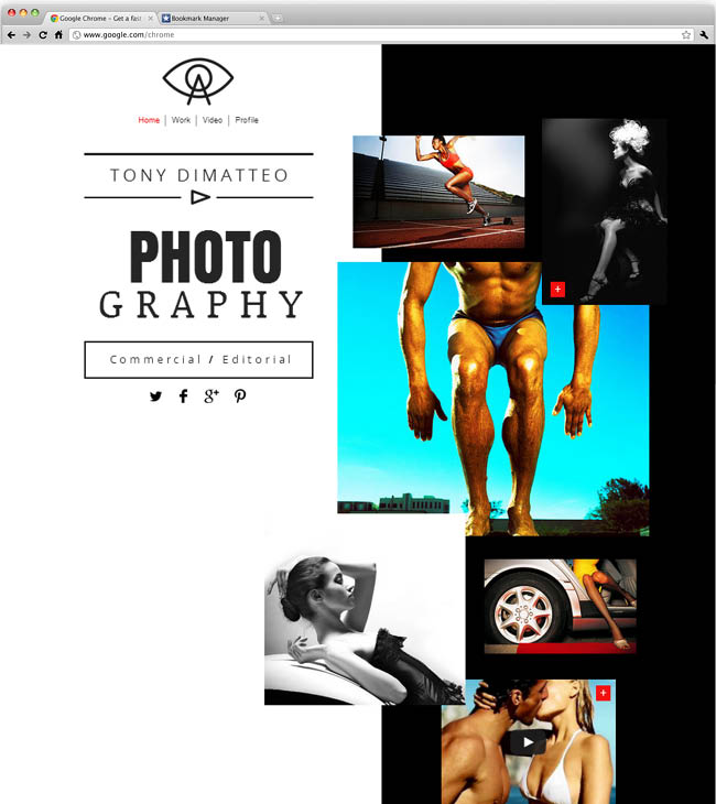 Photographer Website