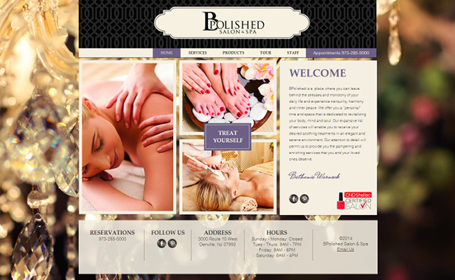 B Polished Salon y Spa
