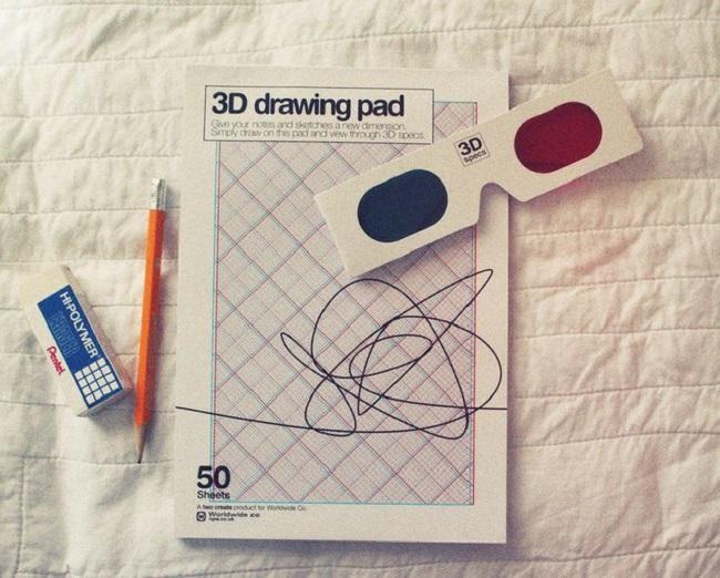 Libro de dibujos para generar el efecto 3D