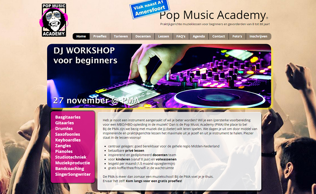 Pop Music Academy
