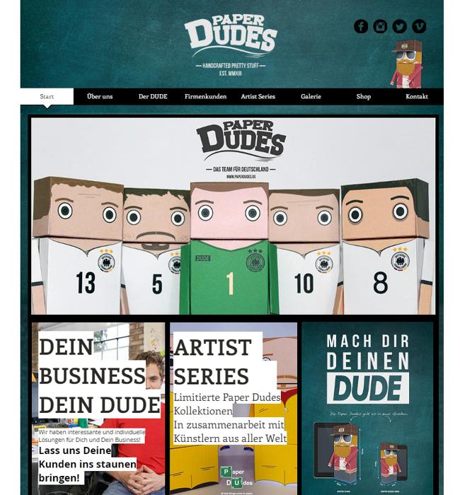Paper Dudes
