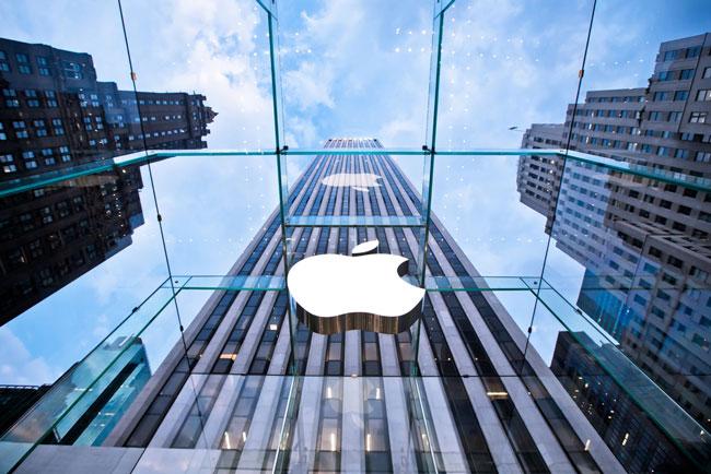 Fotografía de imponente Apple store