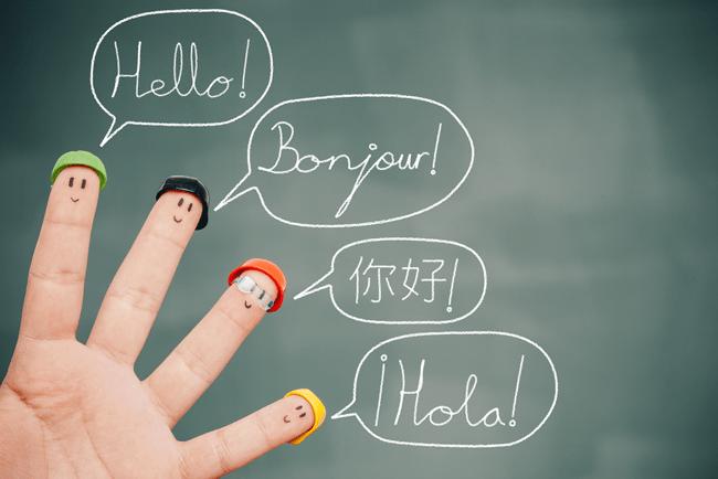 """Palabra """"Hola"""" en diferentes idiomas"""