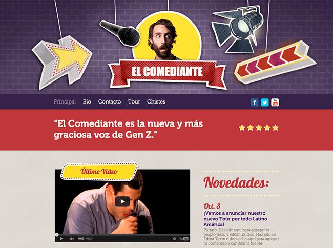 Plantilla: El Comediante