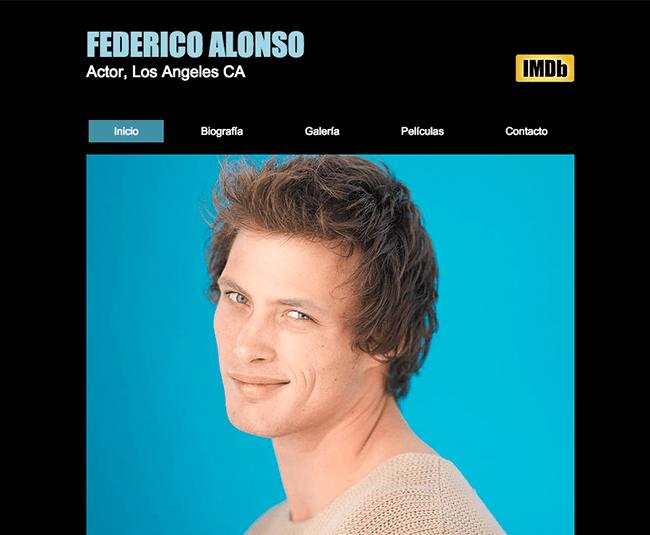 Contemporáneo Plantilla De Curriculum De Actor De Película Adorno ...