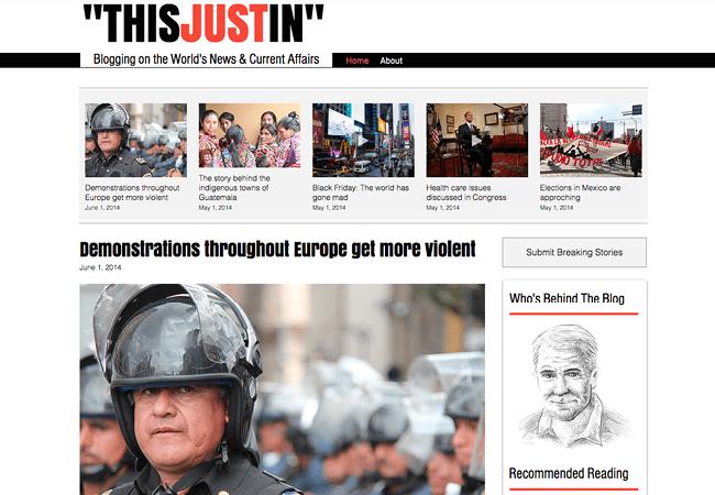 News & Currents Affair Blog