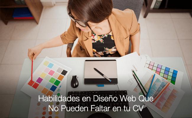 5 Habilidades en Diseño Web Que No Pueden Faltar en tu CV