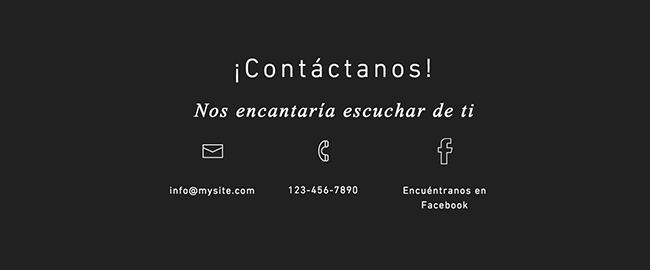 Diseños de Contacto