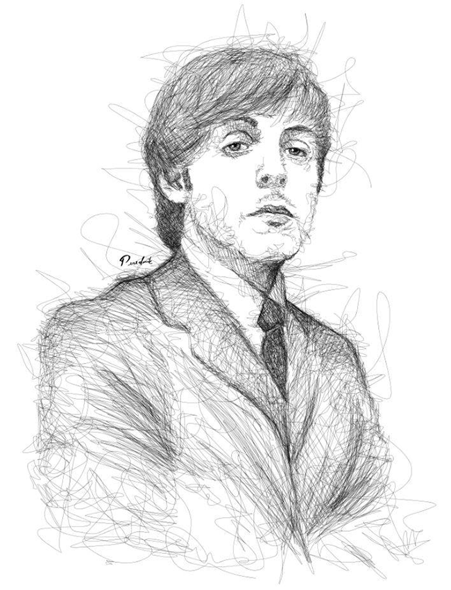 Paul-Mc-Cartney-by-Juan-Perednik