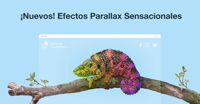 ¡Los Nuevos Efectos Parallax Llegaron Para Que Tu Página Web Sea Todavía Más Hermosa!
