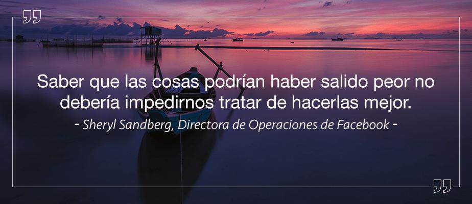 Sheryl Sandberg- Dtora. de Operaciones de Facebook
