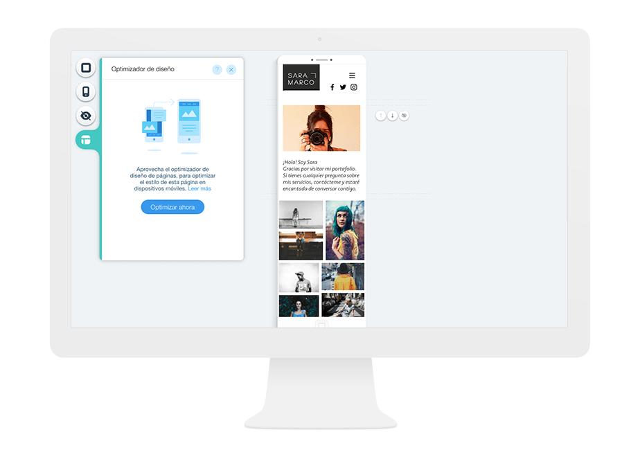 Optimización del diseño de tu página móvil